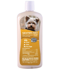 Sentry Pro Toy & Small Breed Dog Flea & Tick Shampoo 12 fl. oz.