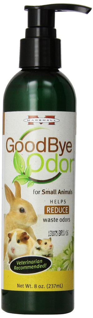 Marshall Pet Products GoodBye Odor for Small Animals, 8-Ounce
