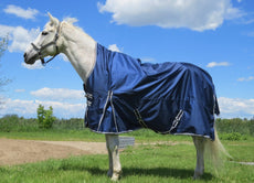 "Handlers Choice 1680D Ballistic Nylon DuPont Teflon Coated Armour-Tex Horse Turn Out Blanket/Rug, Medium/77""-80"""