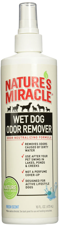Nature's Miracle Wed Dog Odor Remover, 16 oz