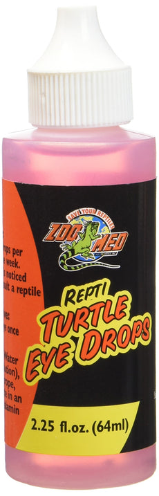 Zoo Med Repti Turtle Eye Drops 2.25 Ounces