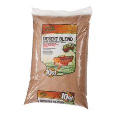 Zilla Ground English Walnut Shells Desert Blend Standard Packaging 10-Quart Bag
