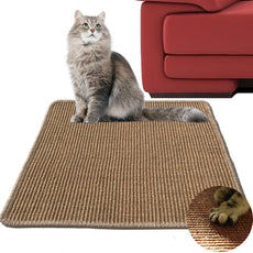"Diversity World Natural Sisal Cat Scratching Mat Khaki 20""x20"""