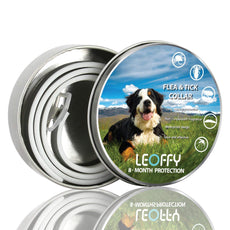 ERGMY Dog Flea Collars - Durable Dog Flea Medicine - Allergy Free, Odorless and Waterproof Flea Collar ERGMY for DOGS