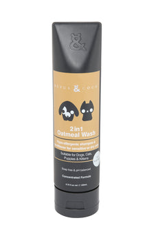 Rufus & Coco 2 in 1 Oatmeal Wash Concentrate Shampoo and Conditioner, 6.76 fl. oz.