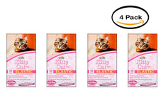 Pack of 4 - Alfapet Kitty Cat Elastic Cat Pan Liners, 10 Count no color