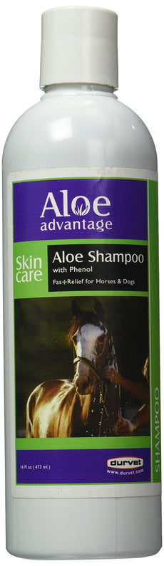 Aloe Advantage Shampoo with Phenol, 16-Ounce