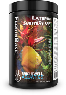Brightwell Aquatics FlorinBase Laterin Substrat VF, Very Fine, High Porosity Clay Base Substrate for use in Planted and Freshwater Shrimp biotope Aquaria, 700 Grams