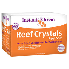 Instant Ocean Reef Crystals Reef Salt for Reef Aquariums 200-Gallon