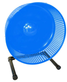 Sugar Glider Wheel--12 inch Freedom Stealth Wheel, Blue with Stand, also Great Pet Exercise Wheel for Rats