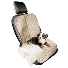Furhaven Pet Car Seat Cover | Car Seat Cover Styles Clay Single Seat