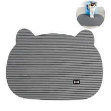 OM Proud Horse Cat Litter Mat Soft PVC Foam Pet Trapping Mat Non Slip for Cats Dogs and Puppies