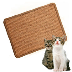 LPLED Cat Scratching Mat,Natural Sisal Cat Mat,Protection Play Scratcher Pad 11.81*15.75 inch