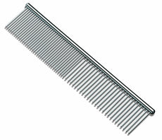 Hateli Sunnyhill Grooming Comb Stainless Steel Pet Grooming Comb for Cats, Dogs