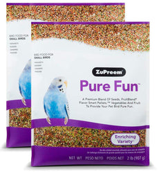 ZuPreem Pure Fun Bird Food, Available for Various Sizes 4 LB