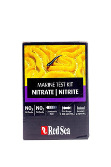 Red Sea Marine Test Kit Nitrate/Nitrite, 50/50 tests