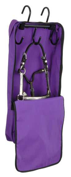 Tough 1 Mini Halter and Bridle Bag with Rack Purple