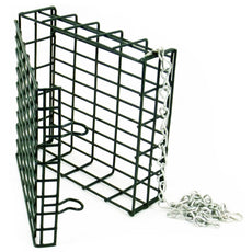 Droll Yankees SF-S Single Suet Feeder Green