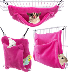 Avianweb Small Pet Pocket Hammock – Made in The USA Rose