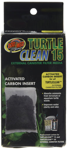 Zoo Med Carbon Bag for 501 Turtle Filter 2 1/4' L x 2 1/4' W x 4' H