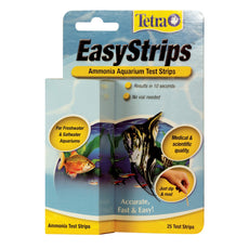 Tetra EasyStrips Ammonia Aquarium Test Strips for Fresh/Salt Water 25-Strip