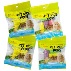 Niteangel Pet Rice Pops, Small Animal Chew Treats Pack of 4
