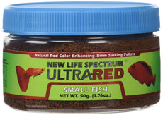 New Life Spectrum Ultrared Sink Food, 50g/5mm