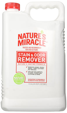 Nature's Miracle Stain and Odor Remover for Dogs, Enzymatic Formula Dog Stain & Odor Remover Pour (old formula) 1.5 gallons/192 ounces