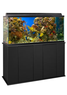 Aquatic Fundamentals 55 Gallon Upright Aquarium Stand Black