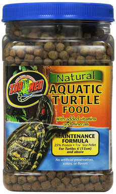 24-Ounce, No Artificial Colors or Preservatives Maintenance Formula Turtle Food