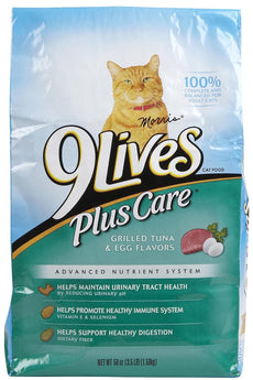 9Lives Plus Care - Tuna & Egg - 3.5 Lb