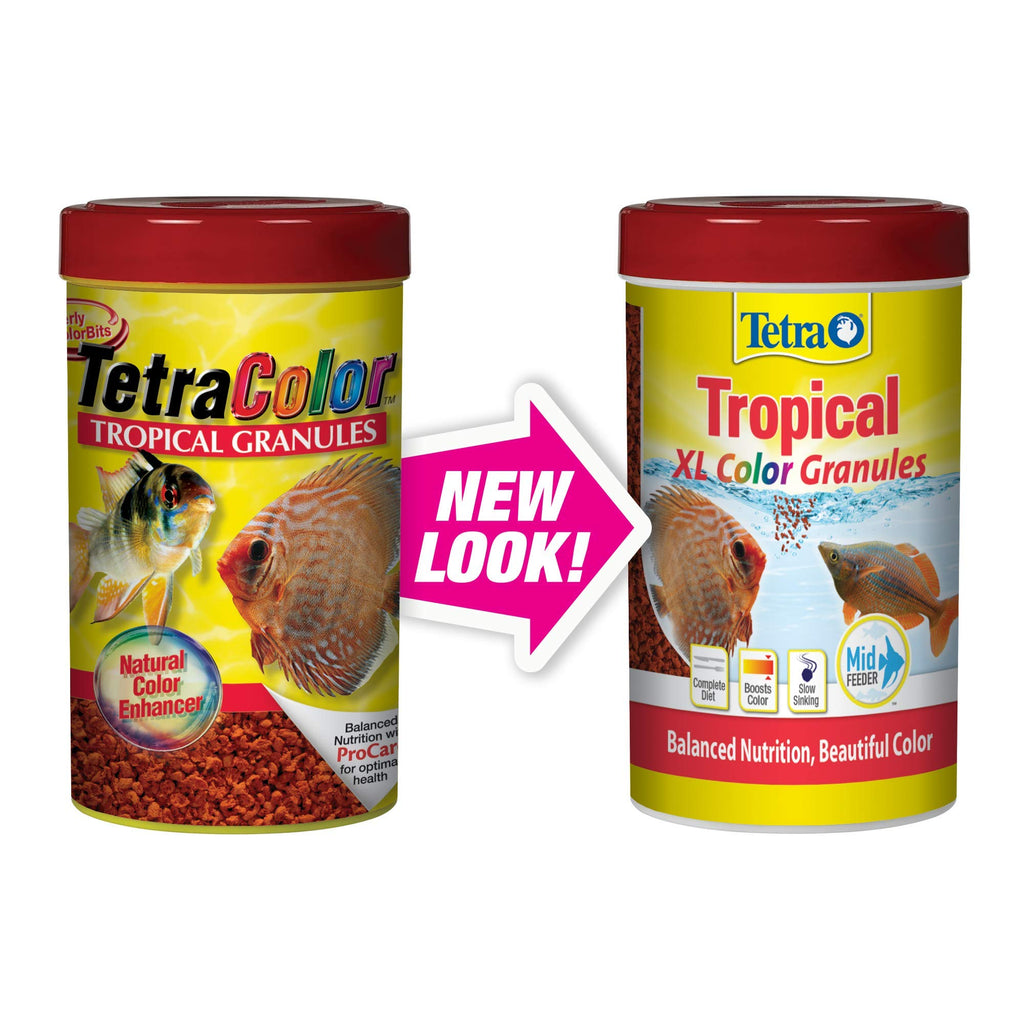 Tetra Tropical XL Color Granules with Natural Color Enhancer 10.58-Ounce