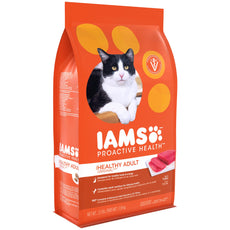 Iams Proactive Health Adult Indoor Weight & Hairball Care Dry Cat Food With Chicken, Turkey, And Garden Greens, 3.5 Lb. Bag (Discontinued By Manufacturer)