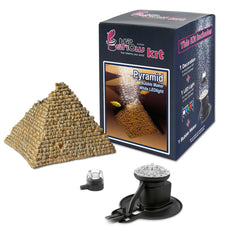 Hydor H2Show Ornament Kit for Aquariums White Pyramid