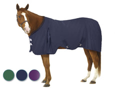 EQ EZ-Care Stable Sheet Navy 84