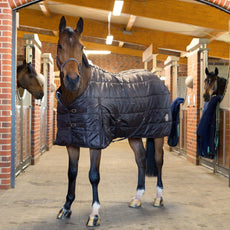 Horze Spirit Stable Rug, Dark Brown/Dark Brown - 75