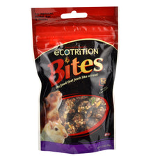 eCOTRITION Bites Hamster/Gerbil Pig Food, 2.5-Ounce 2.5 OZ
