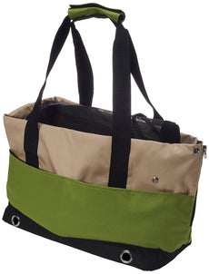 Iconic Pet Furrygo Sports Handbag Carrier Lime Green