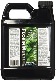 "Brightwell Aquatics ""Florin Multi, Complete Multi-Nutrient with Iron and Iodide for All Planted Aquaria, 2 L"