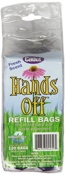 Cadet 8-Pack Waste Refills Purple Bags, 15 Count