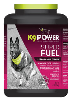 K9-Power Super Fuel - Energy and Muscle Nutritional Supplement for Active Dogs 4 lb