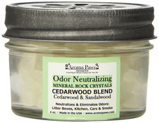 Aroma Paws Odor Neutralizing Rock Crystals, 4-Ounce, Cedarwood