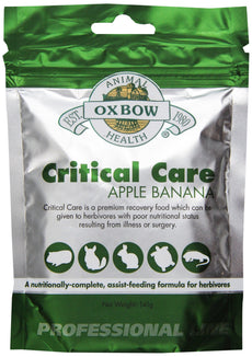 Oxbow Critical Care Apple/Banana Pet Supplement, 141gm 141g