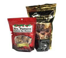 Equus Magnificus The German Horse Muffin and Mrs. Pastures Cookies for Horses Pack for Horse Owners Standard Pack