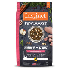 Instinct Raw Boost Grain Free Recipe Natural Dry Cat Food by Nature's Variety Indoor Health Chicken 5 lb