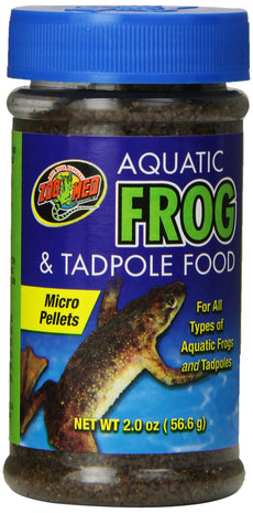 Zoo Med Aquatic Frog & Tadpole Food 2 oz