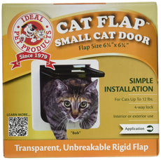 "Ideal Pet Products SPF 8-3/16"" X 7-15/16"" 4 Way Locking Cat Flap"