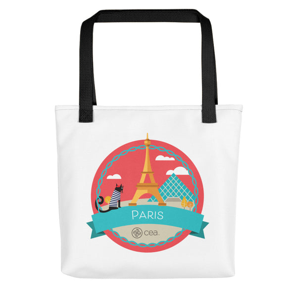 CEA Paris Tote Bag