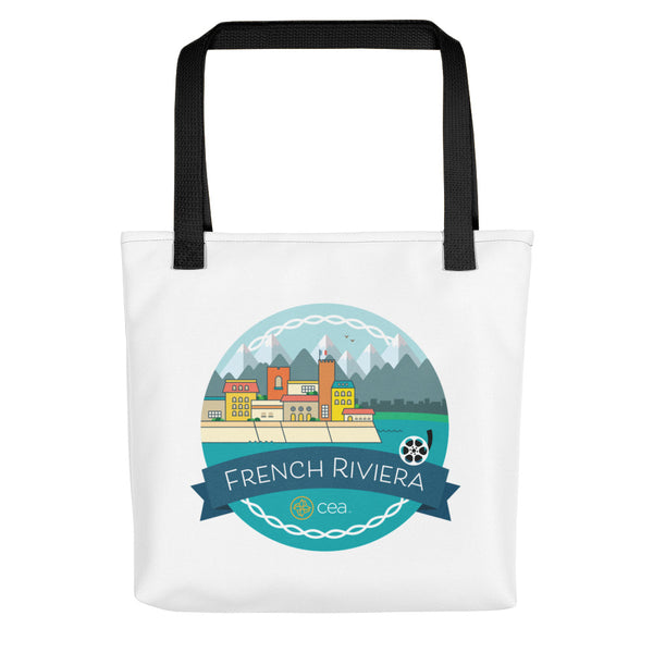 CEA French Riviera Tote Bag