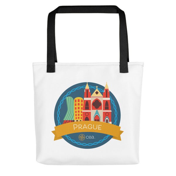 CEA Prague Tote Bag